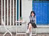 DSC_9692 (khải tun) Tags: portrait coffee concept color model blended clothes chân dung
