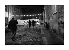 Angels (Jan Dobrovsky) Tags: night leicaq lvov ukraine street people christmas light outdoor angels evening lviv document