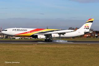 OO-ABA Airbus A340-300 Air Belgium
