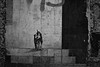 hands in the dark (Alexandre Dulaunoy) Tags: handsinthedark wall graffiti streetart traces blackwhite noiretblanc noirblanc monochrome mur sicilia catania bw nb artwork stencil
