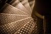 Spiral (Fret Spider) Tags: geometric pattern spiral helix metal grate chicago fieldmuseum exhibit canoneos5dsr dlsr ze otus normal manuallens distagonotus5514ze otus1455 otus1455ze pharaoh architecture