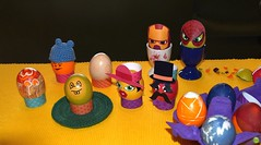 Easter fun :) (petrOlly) Tags: easter eastereggs ostern wielkanoc europe europa germany deutschland object objects food foodporn inthekitchen handmade crochet amigurumi geek easter2018