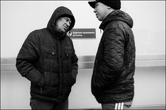 17dra0297 (dmitryzhkov) Tags: urban outdoor life human social public stranger photojournalism candid street dmitryryzhkov moscow russia streetphotography people bw blackandwhite monochrome badweather terminal