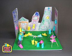 121-Peeps at the Park (Carroll Arts Center) Tags: carroll county arts council 2018 peepshow a display marshmallow masterpieces featuring more than 150 sculptures dioramas graphic oversized characters mosaics created inspired by peepsâ®
