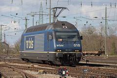 BLS Re 465 010 Basel Bad (daveymills31294) Tags: bls re 465 010 basel bad baureihe bombardier
