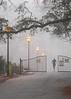 running lights (Jim_ATL) Tags: runner jogger morning fog street light gates piedmont park atlanta explored