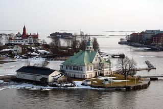 Helsinki harbour islands