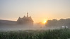 Misty Morning (Martine Lambrechts) Tags: misty morning landscape abbey sunrise