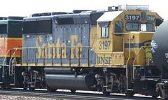 BNSF 3197 Winslow AZ 19 Jul 2008 (AA654) Tags: bnsf santa fe arizona rail railroad emd