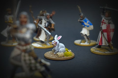 Zombicide Green Horde - Abominabunny (Faced With a Killer Rabbit - Who's Got the Grenade?) (PeteB187) Tags: cmon coolminiornot fantasy blackplague boardgames zombie abomination rabbit survivor