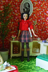 Anaïs Wearing Feltland & Cangaway (Girl Least Likely To) Tags: momoko sekiguchi ooak brunette braids asianfashiondolls japanesetoys dolls miniatures sindyfurniture rement dollhouse dollscene diorama dollroom toys