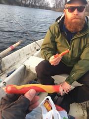 Fiskemellis 13/4 (Atomeyes) Tags: mat fiske erik pölse korv senap