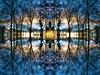 Symmetry (Tobymeg) Tags: symmetry sky trees eye altered images panasonic dmcfz72