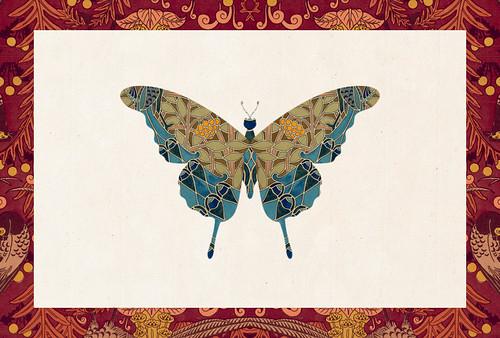 Carte postale // 10x15cm // papillon
