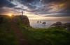 Rincones Costa Quebrada (Pablo RG) Tags: cantabria liencres costa quebrada sea seascape paisaje landscape atardecer sunset sky clouds cielo