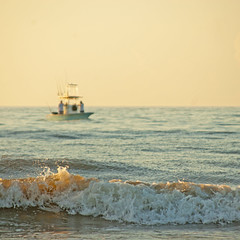 saturday morning (Katie's Cape) Tags: morning sunrise florida tropical paradise vacation beach surf boat scene scenery