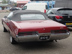 1971 Buick Centurion Convertible (harry_nl) Tags: netherlands nederland 2018 amsterdam buick centurion convertible ar4747 sidecode1 import