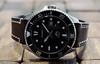 Casio, Duro. 4 (Leica XV) (Mega-Magpie) Tags: leica x vario timepiece time wristwatch watch dive diver casio duro quartz wr200 analog leather band indoors marlin