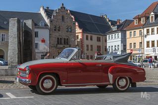 Wartburg 311 Cabriolet - Saalfeld