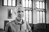 20180419_F0001: Portrait of Nobel laureate Brian Kobilka (wfxue) Tags: event leeds universityofleeds asbury asburycentre astburyconversation scientific symposium meeting greathall hall briankobilka nobellaureate nobelprize chemistry research science scientist people portrait blackandwhite bw bnw monochrome