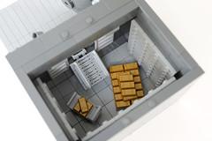 Lego Bank safe - atana studio (Anthony SÉJOURNÉ) Tags: lego bank safe coffrefort banque moc afol brick build atana studio anthony séjourné