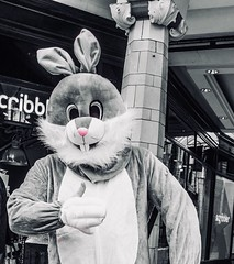 89/365 Easter Hunt (denise.ferley) Tags: oneaday easterfun rabbit fun peopleinthestreet peoplewatching citylife streetphotography thisisnorwich thisisengland
