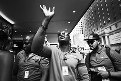 I See the Light (Brian Gilbreath) Tags: ifttt 500px outfit performance crowd leader administration man audience concert group several police monochrome street photography streets streetphotography people life new york city film 35mm black white bw eclipse solar