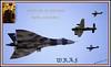100TH BIRTHDAY RAF (Elaine 55.) Tags: raf wraf armedforces vulcan battleofbritainmemorialflight