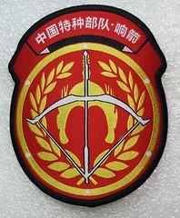 China 38th Army Group Special Operations Brigade (Whistling Arrow, Beijing Military Region) (Sin_15) Tags: pla china 38th army group special operations brigade insignia patch badge peoples liberation ground force beijing chinese