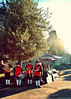 2010-12-14f Christmas Band ([Ananabanana]) Tags: d40 gimp photoscape 1855mm 1855 nikkor nikon1855mmkitlens nikkorafsdx1855mm nikonafsdx1855mm nikkor1855mm nikon1855mm nikonistas nikonista uk unitedkingdom kent medway castle norman rochester band instruments music festive christmas yule carol christmascarol christmascarols musician musicians tuba drum drummer drums trumpet oboe nikon