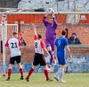 A comfortable take for Bankies stopper Scott Morrison (Stevie Doogan) Tags: clydebank gartcairn west scotland cup round 2 holm park saturday 31st march 2018