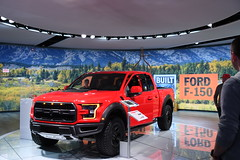 Ford pickup -- 2018 North American International Auto Show (Corvair Owner) Tags: north american international auto show detroit michigan mi mich new car display automobile truck suv crossover manufacturer january 2018 cobo arena hall center winter ford f150
