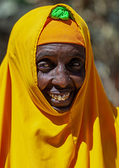 Portrait of a somali woman in yellow hijab, North-Western province, Berbera, Somaliland (Eric Lafforgue) Tags: adultonly africa african africanethnicity barbara berbera blackethnicity culture developingcountry documentary eastafrica ethnic female headshot hijab hornofafrica islam islamic lifestyle lookingatcamera muslim oneperson onepersononly onewomanonly outdoors portrait smile smiling soma4364 somali somalia somaliland traditionalclothing veil vertical woman women northwesternprovince