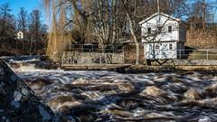 Mörrumsån och Håvstugan (tonyguest) Tags: mörrumsån mörrum karlshamn blekinge sverige sweden tonyguest stockholm river water håvstugan
