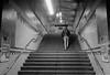 Berlin S-Bahnhof Lankwitz S25 31.3.2018 (rieblinga) Tags: berlin sbahn s25 bahnhof lankwitz nachtaufnahme sw analog kodak tmax 3200 bei 3200asa street 3132018