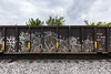 (o texano) Tags: houston texas graffiti trains freights bench benching worms a2m adikts