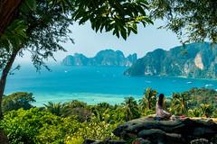 Ko Phi Phi viewpoint (skweeky ツ) Tags: thailand thailande ko koh phi pi le ley sea beach viewpoint