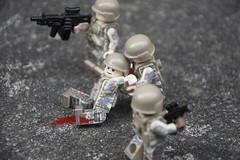 Man Down (LegoInTheWild) Tags: moc afol lego minifigure brickarms unitedbricks