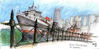 Queen Mary II Sydney Harbour