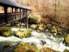 Bridge over troubled water (Antje_Neufing) Tags: brücke irrel stromschnellen wasserfälle eifel wald wasser fluss prüm