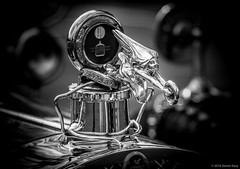 1927 Packard ©2018 Steven Karp (kartofish) Tags: blackandwhite newhopeautoshow2017 packard hoodornament automobile newhope pennsylvania radiatormascot motormascot vintage motorcar depthoffield bokeh buckscounty chrome refledtion fujifilm fuji xt2 1927packard