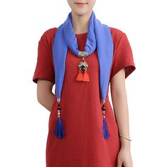 Ethnic Multifunction Women Necklace Tassel Pendant Vintage Cotton Scarf Clothing Accessories Gift (1190338) #Banggood (SuperDeals.BG) Tags: superdeals banggood jewelry watch ethnic multifunction women necklace tassel pendant vintage cotton scarf clothing accessories gift 1190338