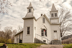 Briceville Community Church (Back Road Photography (Kevin W. Jerrell)) Tags: churches oldbuildings oldchurches nationalregisterofhistoricplaces historic tennessee briceville andersoncounty christianity nikond7200 backroadphotography faith ruralchurches countryscenes