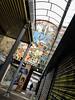 Station art (PChamaeleoMH) Tags: bleachbypass brixton colorefexpro4 graffiti nik people procontrast station