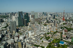 Tokyo from Mori tower #4 (varnaboy) Tags: moritower tokyo japan view skyscrapers city urban skyscraper roppongi roppongihills minato