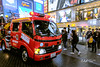 Fire Truck on the street, Osaka 2018 (akira.nick66) Tags: asia asian city cityscape cityview culture holiday human japan japanese life lovejapan osaka people streeview street streetphotography streetscape tour tourism tourist touristspot travel travels vacation view