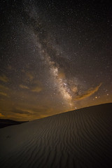 DSC_0250_DUNE_E9 (antelope reflection) Tags: stars nightsky sand dunes longexposure utah light galaxy clouds milkyway jericho
