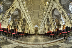 Virgin Mary Cathedral (Rickydavid) Tags: palermo cathedral cattedrale nikon hdr fisheye samyang 8mm