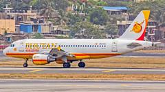 "Bhutan Airlines Airbus A319 A5-BAC ""Dorji"" Mumbai (VABB/BOM) (Aiel) Tags: bhutanairlines airbus a319 a5bac dorji mumbai canon60d tamron70300vc"