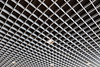 the grid - (keinidyll) Tags: bw grid ceiling perspective
